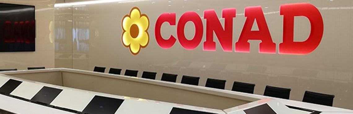 Nouvelle image pour le siège Conad